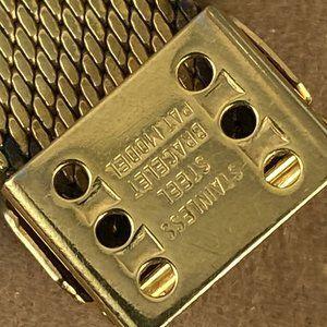 Vintage Accessories - Vintage Bucherer Swiss Gold Tone Watch